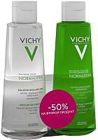 Набор косметики для лица Vichy Normaderm мицеллярный лосьон 3 в 1 200мл+очищающий лосьон 200мл -