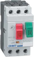 Автоматический выключатель пуска двигателя Chint NS2-25 0.1-0.16А / 495118 -