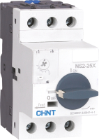 Автоматический выключатель пуска двигателя Chint NS2-25X 0.1-0.16А / 495134 -