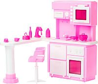 Комплект аксессуаров для кукольного домика Огонек Кухня для кукол / С-1388 -