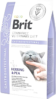 Корм для кошек Brit VD Cat Grain Free Gastrointestinal / 528424 (2кг) -