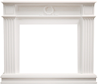 Портал для камина Смолком Neoclassic SYM26/MB/JUP (бьянко белый) -