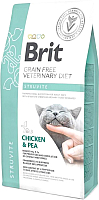 Корм для кошек Brit VD Cat Grain Free Struvite Chicken & Pea / 528271 (2кг) -
