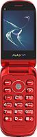 Мобильный телефон Maxvi E3 Radiance (красный) -