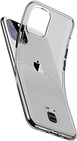 Чехол-накладка Baseus Transparent Key для iPhone 11 Pro (черный) -