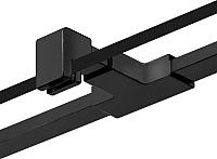 Крепления для душевой двери New Trendy New Renoma/New Soleo PP-0010 (черный) -