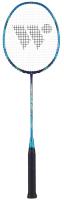 Ракетка для бадминтона WISH Carbon Pro 62 (синий) -