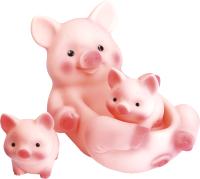 Набор фигурок Огонек Свинка с поросятами / С-899 -