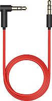 Кабель Olmio AUX 3.5m-3.5m / 038900 (1.5м, красный/черный) -