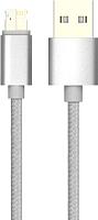 Кабель Olmio USB 2.0 - Magic 5/8 microUSB/Lightning / 038767 (1м) -