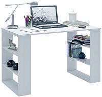 Письменный стол MFMaster Рикс-7 / МСТ-ССР-07-БТ-16 (белый) -