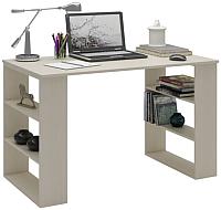 Письменный стол MFMaster Рикс-7 / МСТ-ССР-07-ДМ-16 (дуб молочный) -