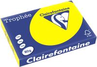 Бумага Trophee A4 80г/м 500л / 1877 (ярко-желтый) -