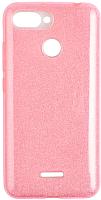 Чехол-накладка CASE Brilliant Paper для Redmi 6 (розовый) -