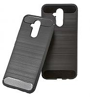 Чехол-накладка CASE Brushed Line для Mate 20 Lite (серый) -