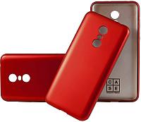 Чехол-накладка CASE Deep Matte v.2 для Redmi Note 4X (красный) -