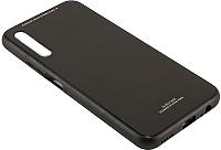 Чехол-накладка CASE Glassy для Honor 9X / 9X Pro (черный) -