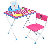 Комплект мебели с детским столом Ника Д1БК-М Disney 1. Белоснежка -
