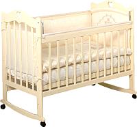 Детская кроватка Incanto Sofi с сердечком (слоновая кость) -