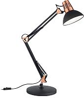 Настольная лампа Ideal Lux Wally TL1 Nero / 61191 -