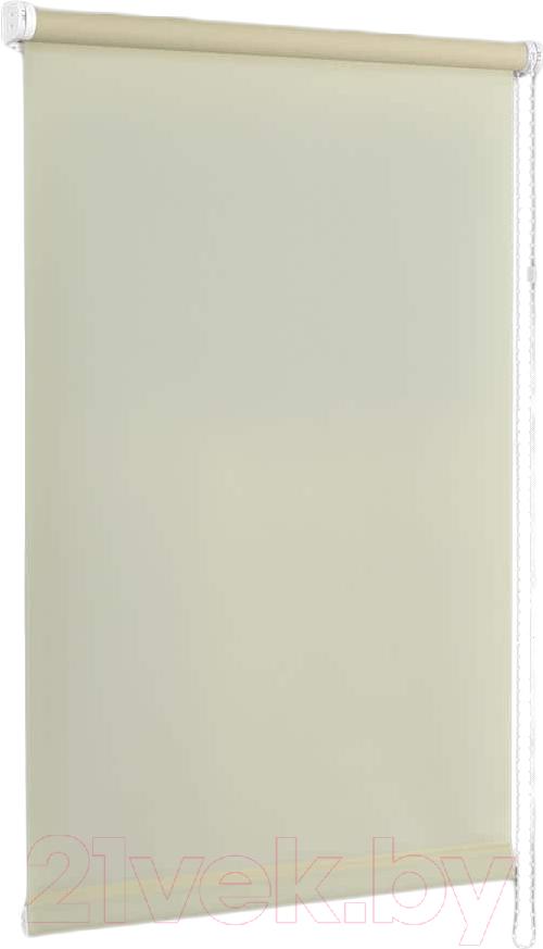 Купить Рулонная штора Delfa, Сантайм Уни СРШ-01 МД116 (57x215, шампань), Беларусь, ткань