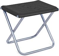 Табурет складной Ника С пластиковым сиденьем ПСП4 (черный) -