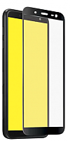 Защитное стекло для телефона CASE Full Glue для Galaxy J6 (черный) -