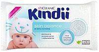 Влажные салфетки Kindii Skin Balance с миндальным маслом и витамином Е (100шт) -