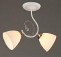Потолочный светильник Mirastyle SX-0709/2 WT+FG -