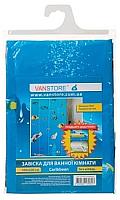 Шторка-занавеска для ванны VanStore Caribbean Peva 61004 -