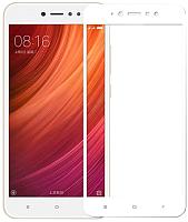 Защитное стекло для телефона CASE Full Glue для Redmi 4X (белый) -