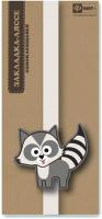 Закладка для книг Феникс+ Енот / 45895 (серый) -