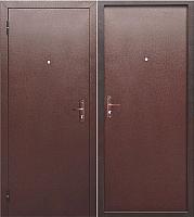 Входная дверь Гарда Стройгост 5 металл/металл (96х205, левая) -