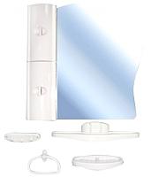 Комплект мебели для ванной Белпласт 10-01 / C341-2830 (белый) -