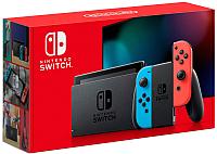 Игровая приставка Nintendo Switch 2019 / HAD-001-01 (красный/синий) -