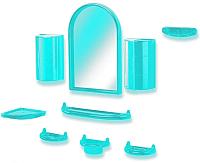 Комплект мебели для ванной Белпласт 09-03 / C300-2831 (бирюзовый) -