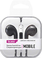 Наушники-гарнитура Olmio Mobile / 038842 (черный) -