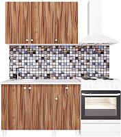 Готовая кухня Горизонт Мебель Point 120 (тьяполо) -