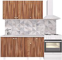 Готовая кухня Горизонт Мебель Point 150 (тьяполо) -