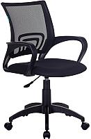 Кресло офисное King Style KE-695NLT (ткань/сетка, черный) -