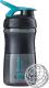 Шейкер спортивный Blender Bottle SportMixer Tritan / BB-SM20-BTEA (черный/морской голубой) -