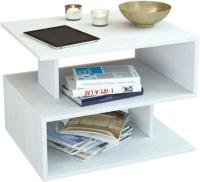 Журнальный столик MFMaster Арто-22 / МСТ-СЖА-22-БТ-16 (белый) -