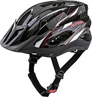 Защитный шлем Alpina Sports MTB 17 / A9719-31 (р-р 58-61, черный/белый/красный) -