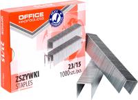 Скобы канцелярские Office Products 18072359-19 (1000шт) -