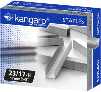 Скобы канцелярские Kangaro 23/17H (1000шт) -