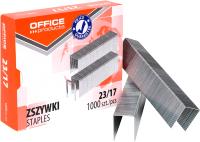 Скобы канцелярские Office Products 18072369-19 (1000шт) -