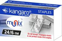 Скобы канцелярские Kangaro 24/6-1М (1000шт) -