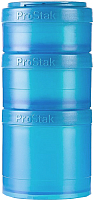 Набор контейнеров Blender Bottle ProStak Expansion Pak Full Color / BB-PREX-FCAQ (голубой) -