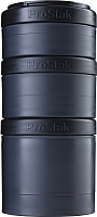 Набор контейнеров Blender Bottle ProStak Expansion Pak Full Color / BB-PREX-FBLK (черный) -
