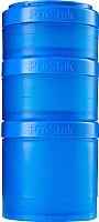 Набор контейнеров Blender Bottle ProStak Expansion Pak Full Color / BB-PREX-FCYA (бирюзовый) -